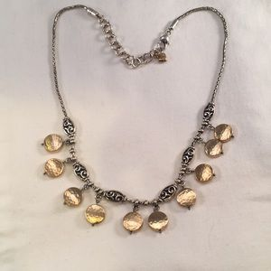 Brighton gold and silver toned necklace